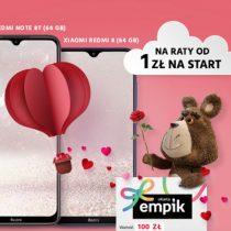 Walentynkowa para w Plushu – Xiaomi + bon 100 zł