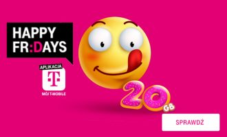 Happy Fridays w T-Mobile – 20 GB w prezencie!