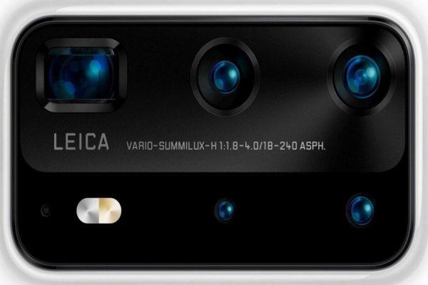5 obiektywów w Huawei P40 Pro
