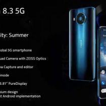 Nokia 8.3 5G zaprezentowana na grafikach