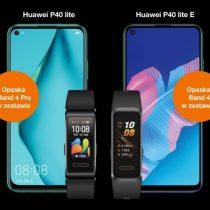 Huawei P40 Lite i P40 Lite E z gratisami w Orange