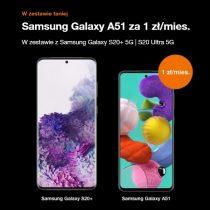 Samsung Galaxy A51 za 1 zł miesięcznie w Orange