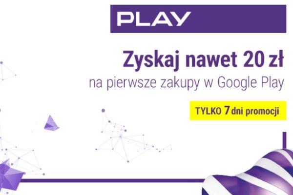 Google Play taniej -20 zł