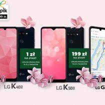Wiosna z LG w Plusie – telefony od 1 zł z prezentami