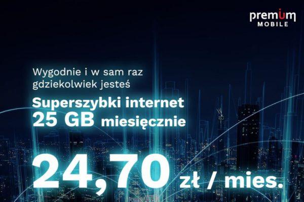 Premium Mobile 25 GB
