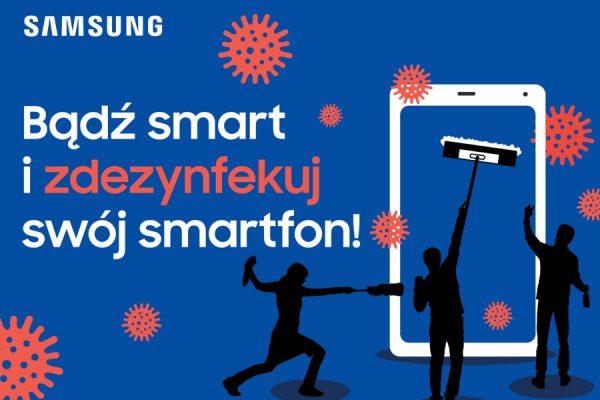 Samsung dezynfekcja telefonów UV-C