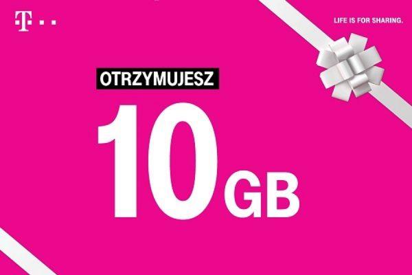 T-Mobile 10 GB ekstra