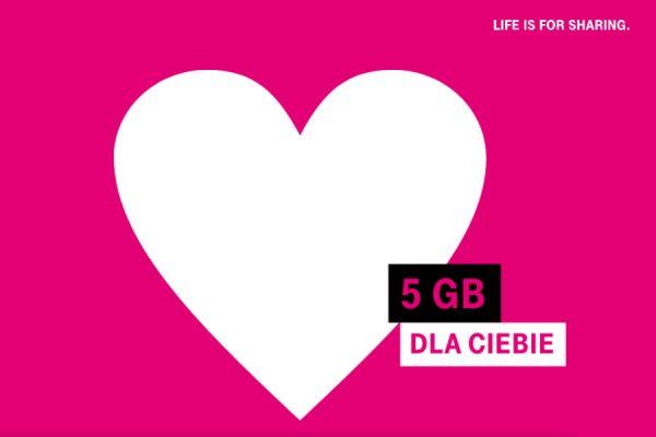 T-Mobile 5 GB na majówkę