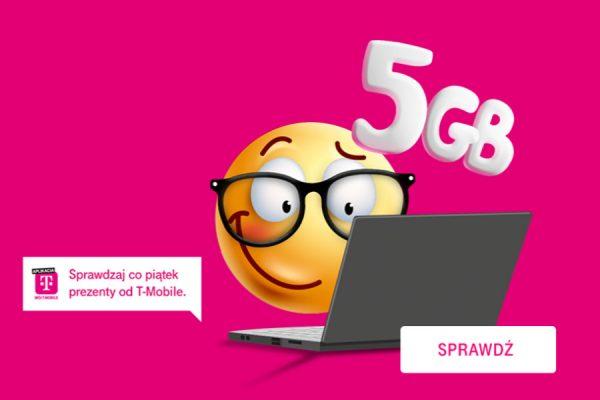 T-Mobile 5 GB ekstra