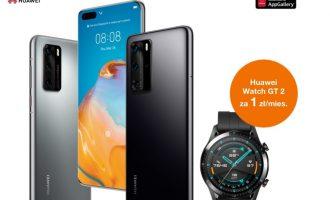 Przedsprzedaż Huawei P40 i P40 Pro w Orange + gratis