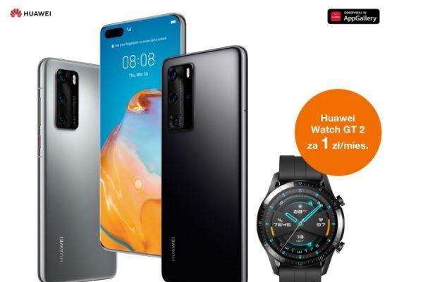 Orange Huawei P40 promocja