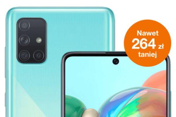 Orange oferta tygodnia Galaxy A71