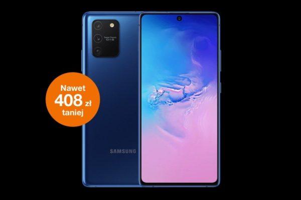 Samsung Galaxy S10 lite promocja