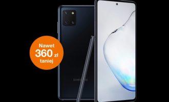 Oferta tygodnia Orange – Galaxy Note10 lite tańszy o 360 zł