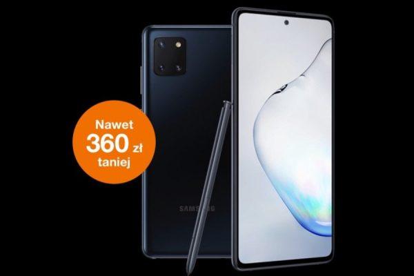 Samsung Galaxy Note 10 lite promocja
