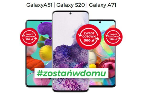 Plus promocja Samsung 300 zł