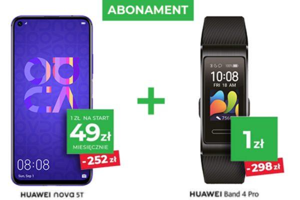 Huawei Nova 5T promocja