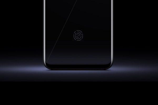 Czytnik linii papilarnych w ekranie telefonu