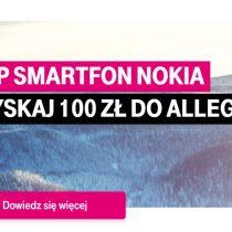 Nokia z Allegro – zyskaj 100 zł w T-Mobile