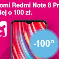 Redmi Note 8 Pro przeceniony o 100 zł w T-Mobile