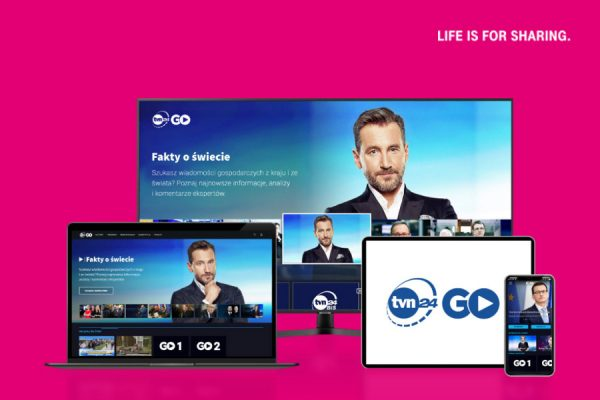 T-Mobile TVN24 GO za darmo