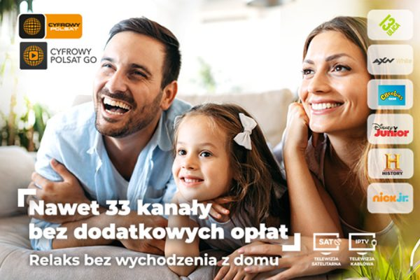 Cyfrowy Polsat promocja #zostanwdomu