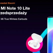 Przedsprzedaż Xiaomi Mi Note 10 Lite w Orange od 0 zł