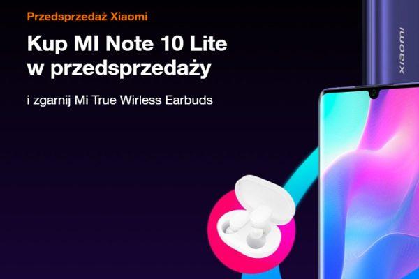 Xiaomi Mi Note 10 lite promocja