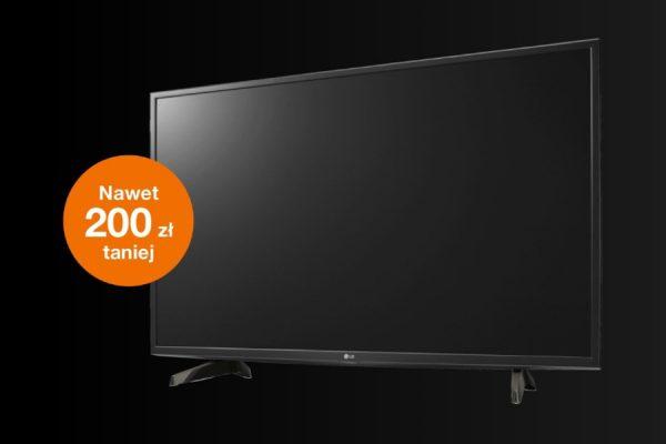 "telewizor LG 43"" promocja Orange"
