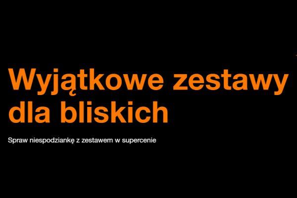 Orange zestawy 2w1 za 0 zł
