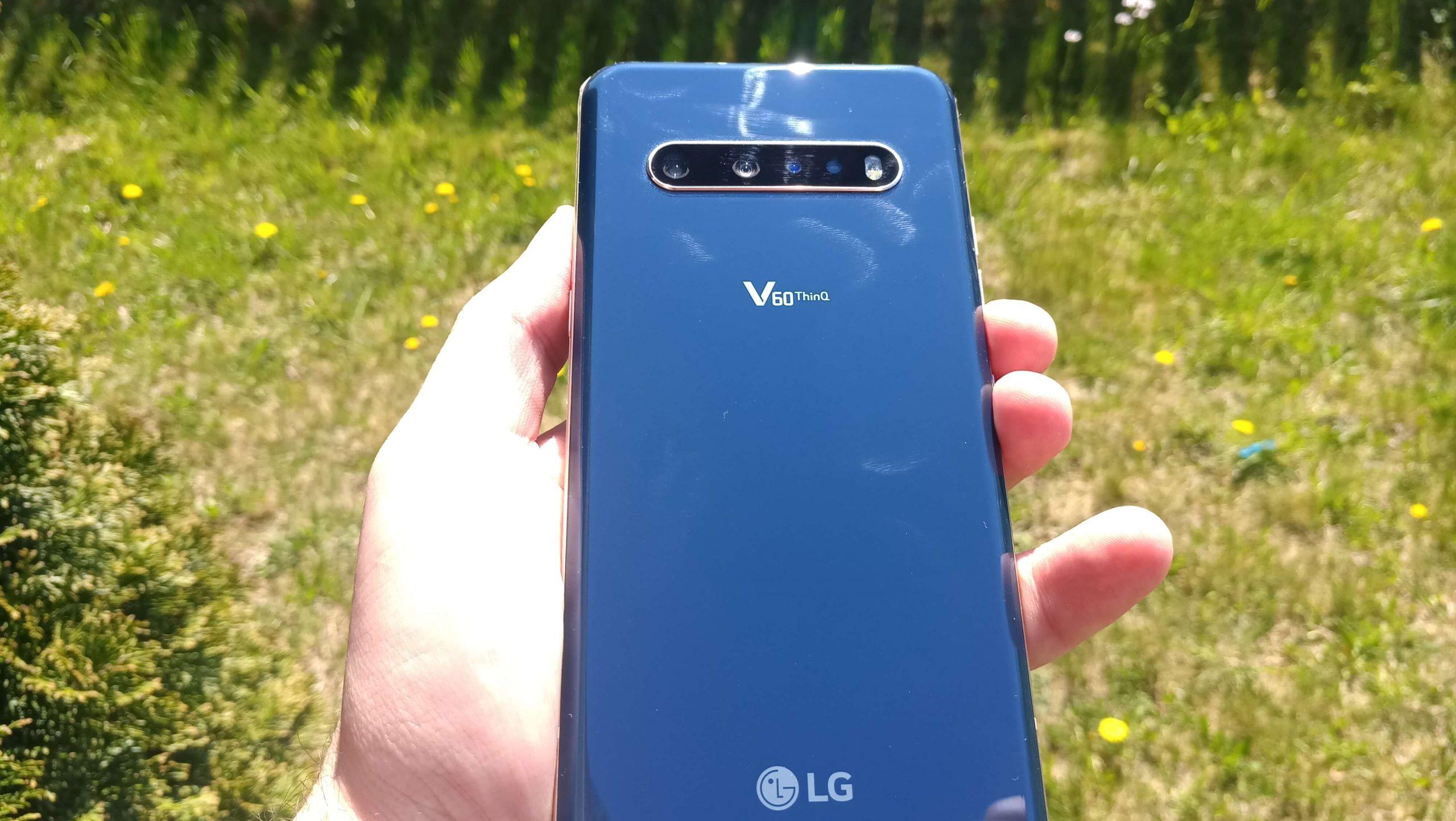 LG V60 ThinQ test