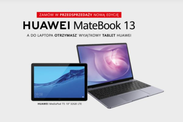 Play Matebook 13 promocja