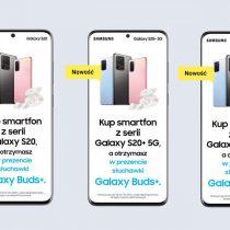 Samsung Galaxy S20 z Galaxy Buds+ w Play