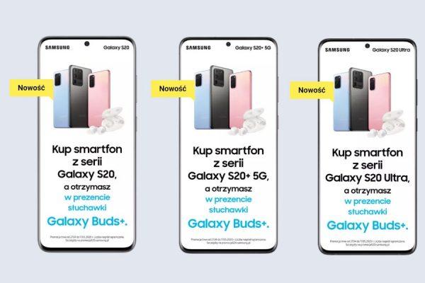 Play Samsung Galaxy S20 promocja