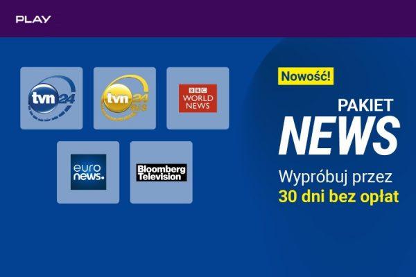 Play NOW pakiet NEWS