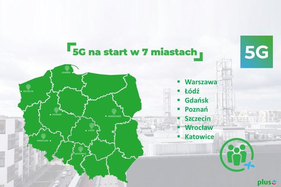 pierwsza sieć 5G w Polsce