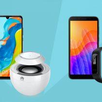 2 telefony Huawei z gadżetami w Plush ABO