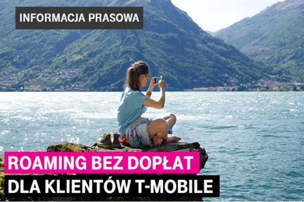 roaming UE w T-Mobile bez dodatkowych dopłat