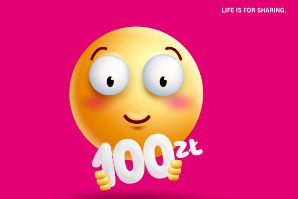 T-Mobile rabat -100 zł