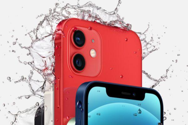 czerwony iPhone 12 red