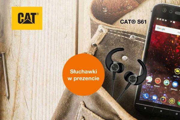 Cat S61 promocja