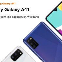 Nowość w Orange – Samsung Galaxy A41 od 0 zł