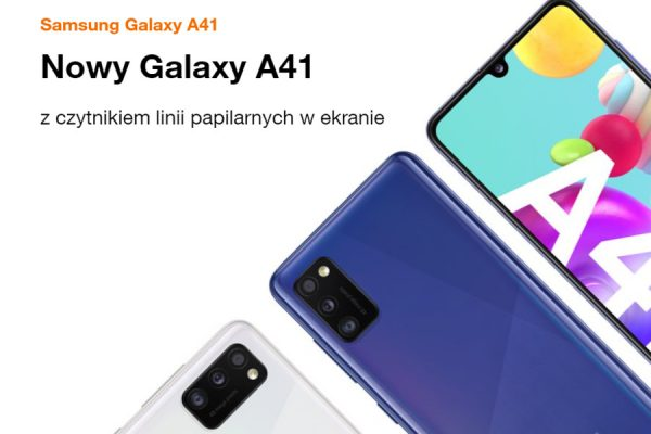 Samsung Galaxy A41 abonament