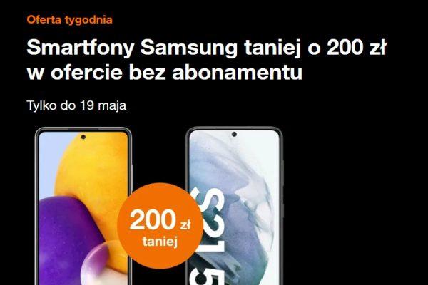 Orange Samsung promocja