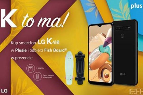 LG K41S promocja prezent