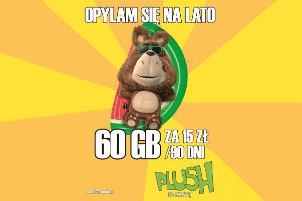 Plus Plush promocja 60 GB