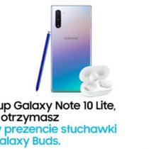 Samsung Galaxy Note10 lite + Galaxy Buds gratis!