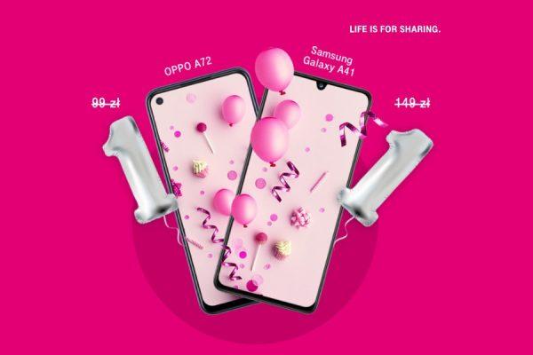 T-Mobile Polska 9 lat promocja