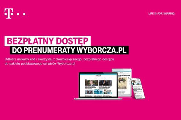 wyborcza.pl za 0 zł z T-Mobile