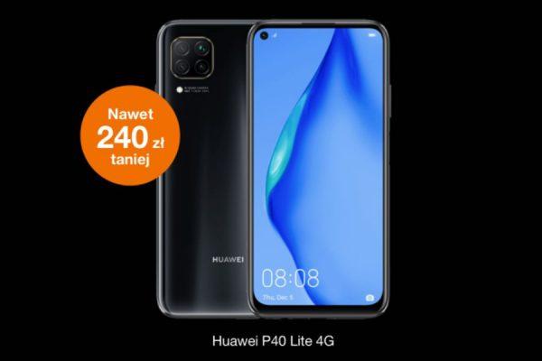 Huawei P40 Lite promocja